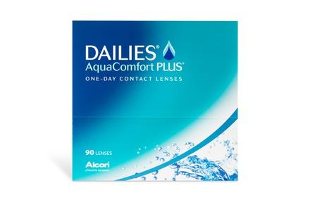 Dailies Aqua Comfort Plus (90 lēcas)