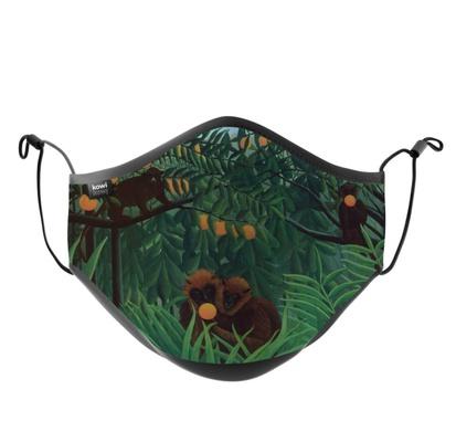 KOWI KOWI Henri Rousseau, Monkeys in the Jungle 1910